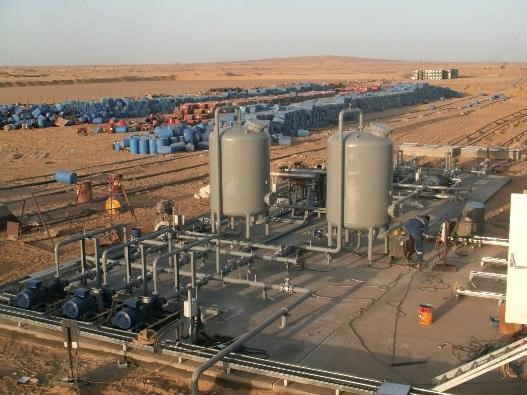 Three Phase Separator Services in Egypt